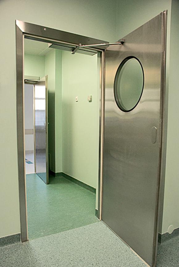 Automatické otočné dvere